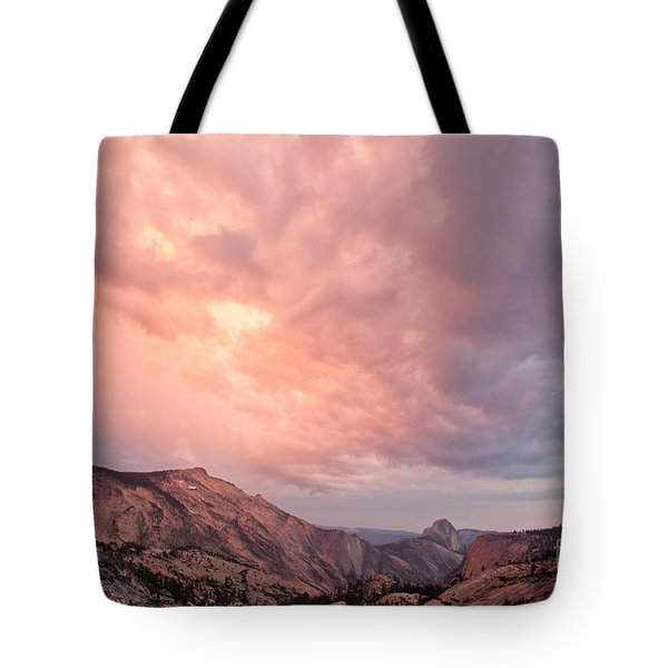Half Dome From Olmsted Point Tote Bag
