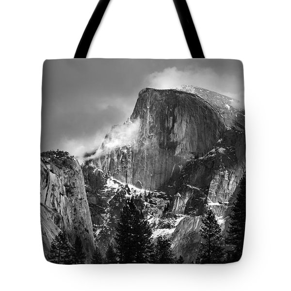 Half Dome Tote Bag by Jeff Grabert