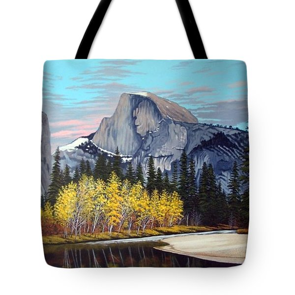 Half-dome Tote Bag by Rick Gallant