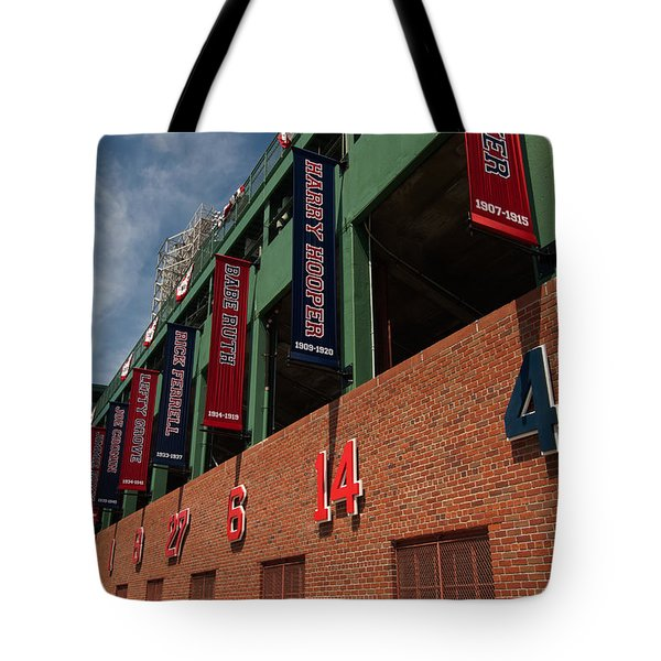 Hall Of Famers Tote Bag by Paul Mangold