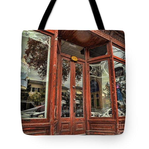 Halloween Storefront - Shepherdstown Wv Tote Bag