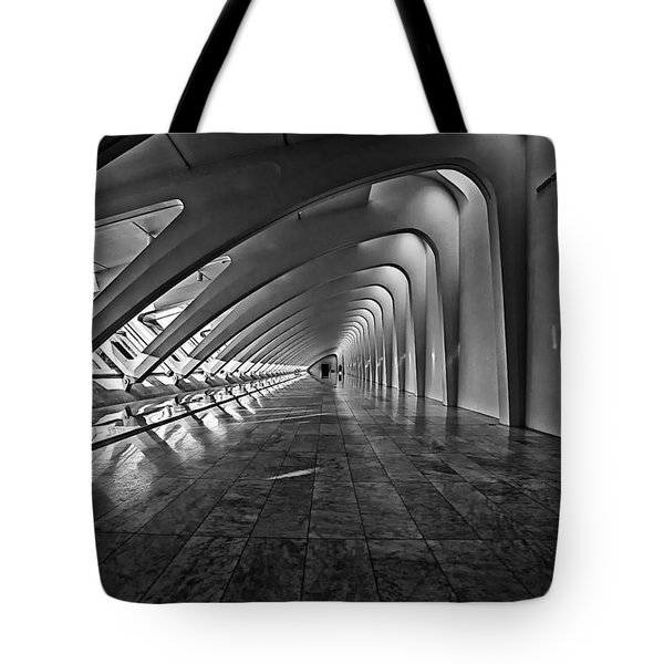 Hallway Of Repetition Tote Bag