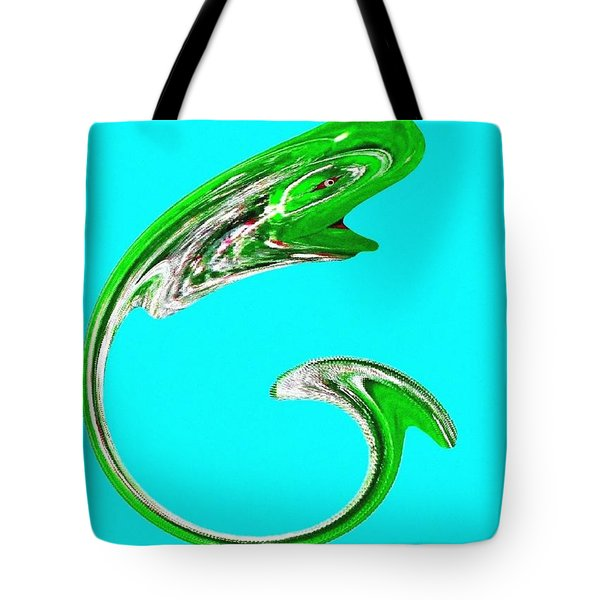Hammer Tail Whale Tote Bag by Will Borden