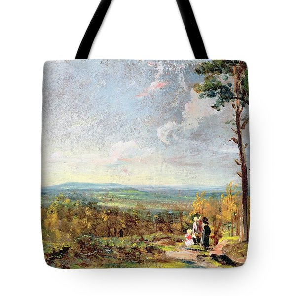 Hampstead Heath Looking Towards Harrow Tote Bag