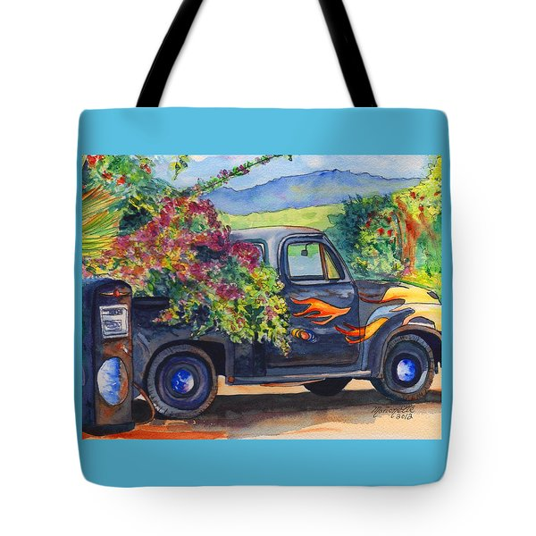 Hanapepe Truck Tote Bag by Marionette Taboniar