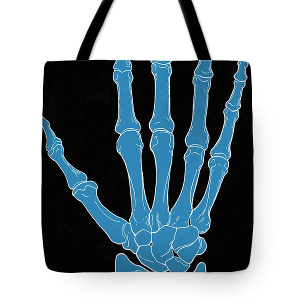 Hand And Wrist Bones Tote Bag by Science Source