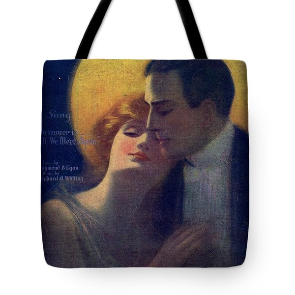 Hand In Hand Again Tote Bag by Mel Thompson