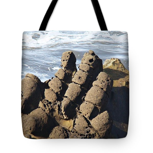 Hand Of Zeus Tote Bag by Nick Kloepping