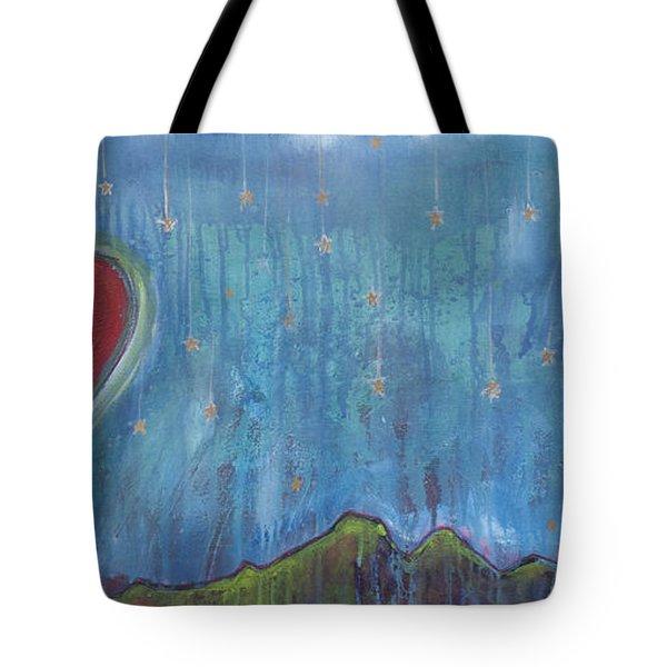 Hang Among The Stars Tote Bag
