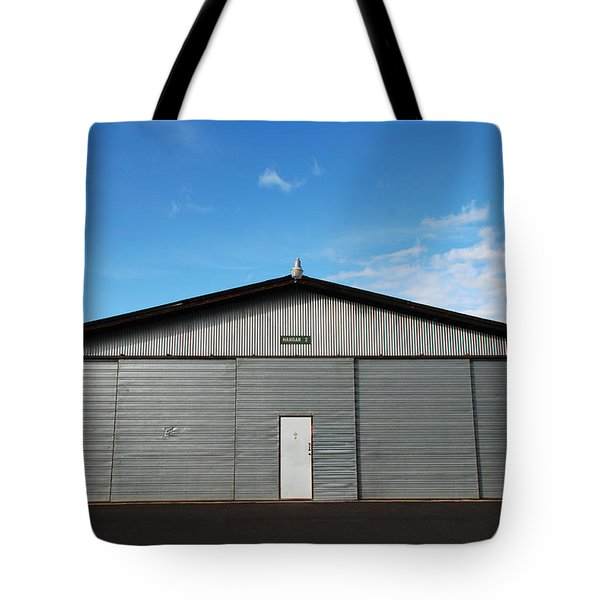 Tote Bag featuring the photograph Hangar 2 by Kathleen Grace