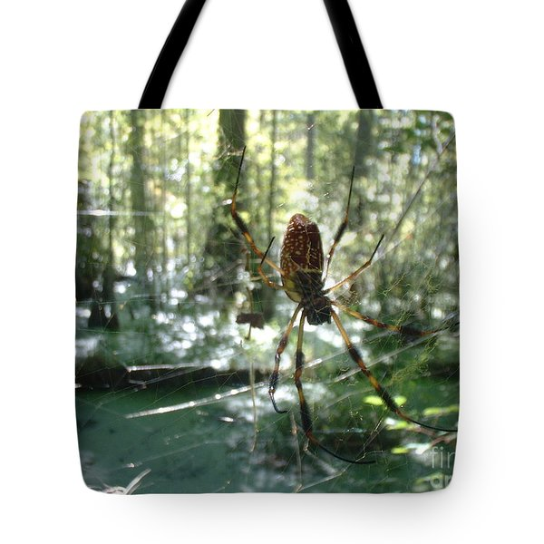 Hanging Loose Tote Bag by Mark Robbins