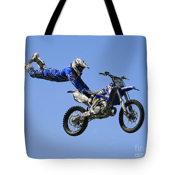 Hanging On Tote Bag by Chris Dutton