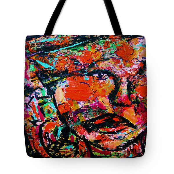 Hanging On Tote Bag by Natalie Holland