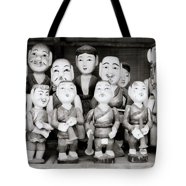Hanoi Water Puppets Tote Bag