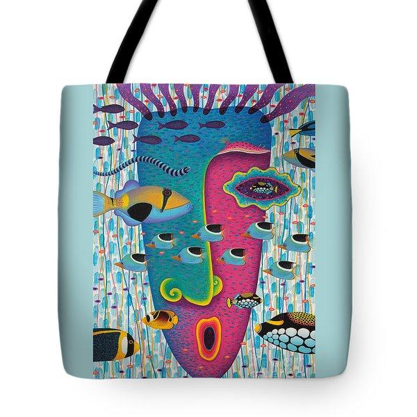 Happiness 3 Tote Bag by Opas Chotiphantawanon