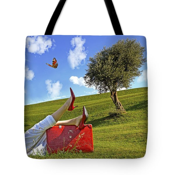 Happiness Of Summer Tote Bag by Joana Kruse