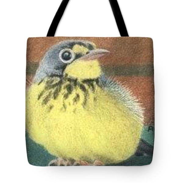Happy Birdie - Aceo Tote Bag