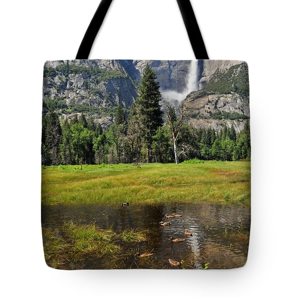 Tote Bag featuring the photograph Happy Campers by Lynn Bauer
