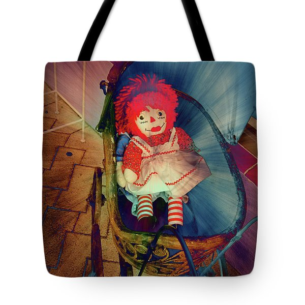Happy Dolly Tote Bag by Susanne Van Hulst