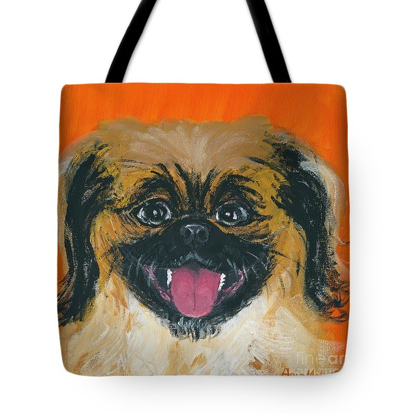 Happy Face Tote Bag
