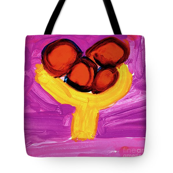 Happy Fruit Tote Bag