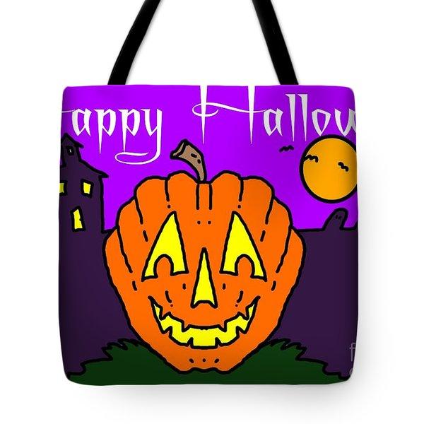 Happy Halloween 2 Tote Bag by George Pedro