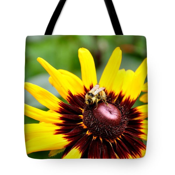 Happy Rudbeckia Tote Bag by Tanya  Searcy