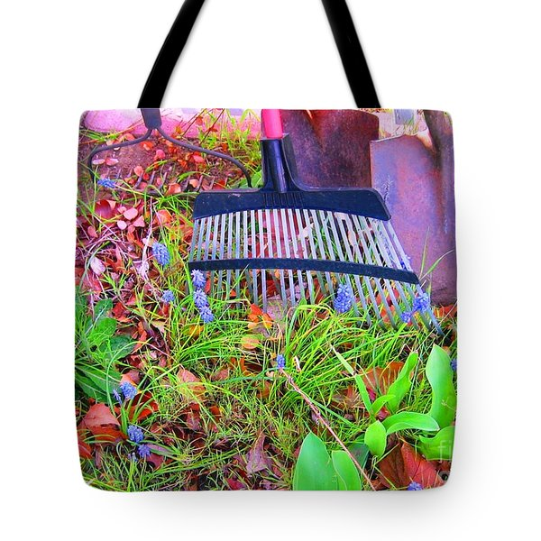 Tote Bag featuring the photograph Happy Spring II by Ann Johndro-Collins