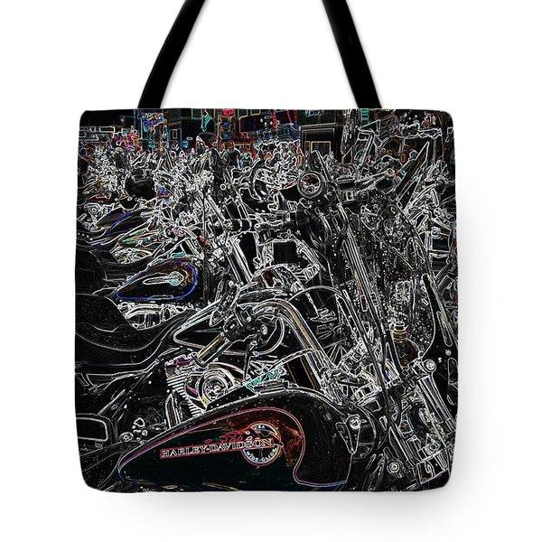 Harley Davidson Style Tote Bag