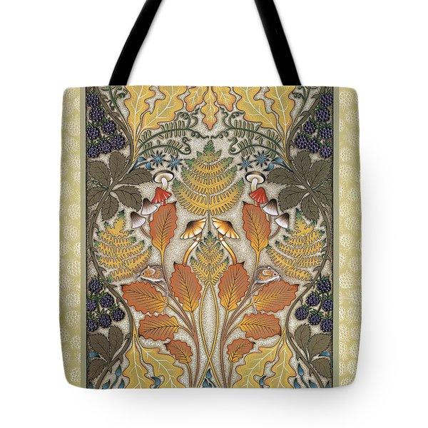 Harvest Hedgerow Tote Bag by Isobel  Brook Haslam