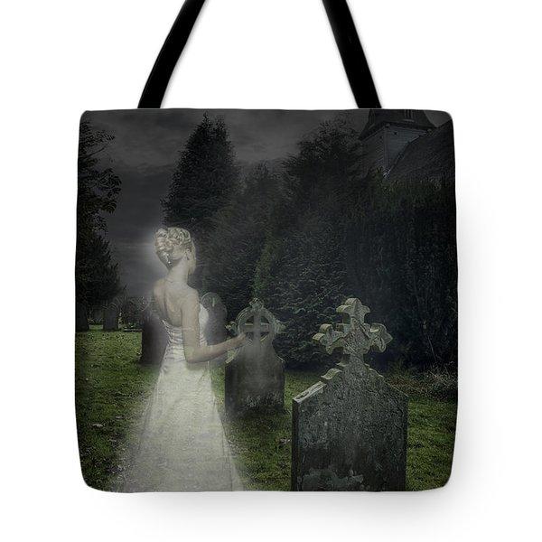 Haunting Tote Bag by Amanda Elwell
