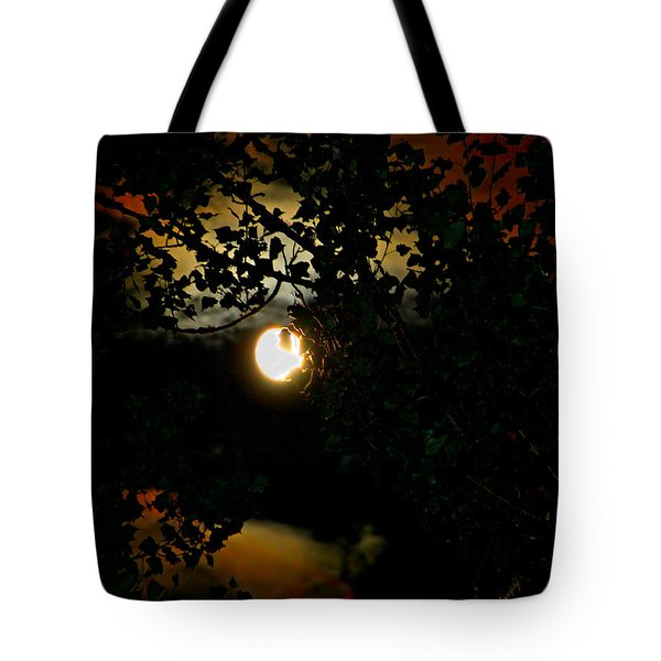 Haunting Moon IIi Tote Bag by Jeanette C Landstrom