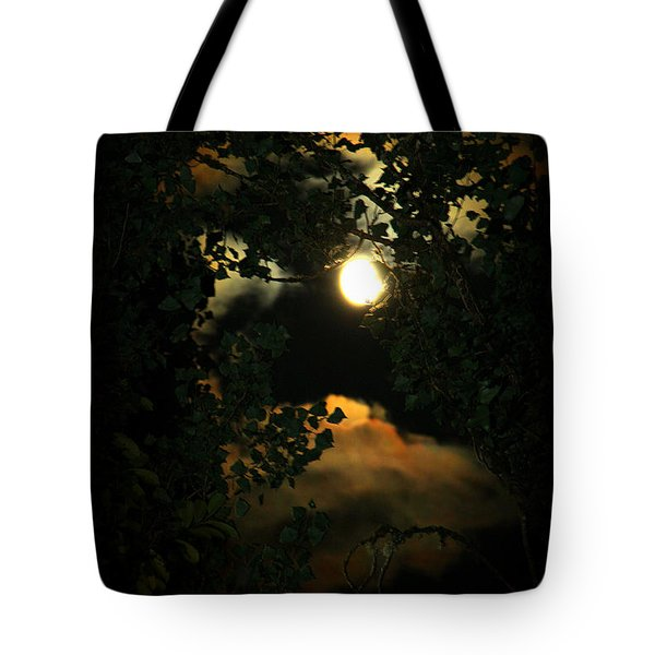 Haunting Moon Tote Bag by Jeanette C Landstrom