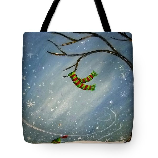 Have You Seen My Scarf Tote Bag