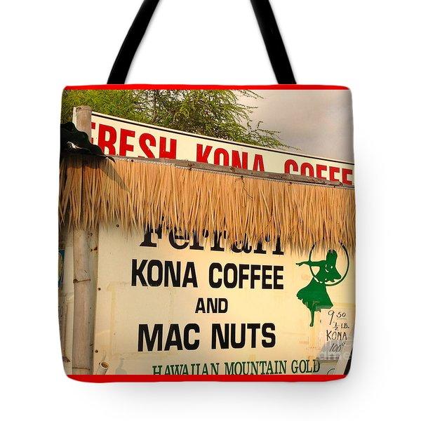 Hawaiian Food Truck Tote Bag by Beth Saffer