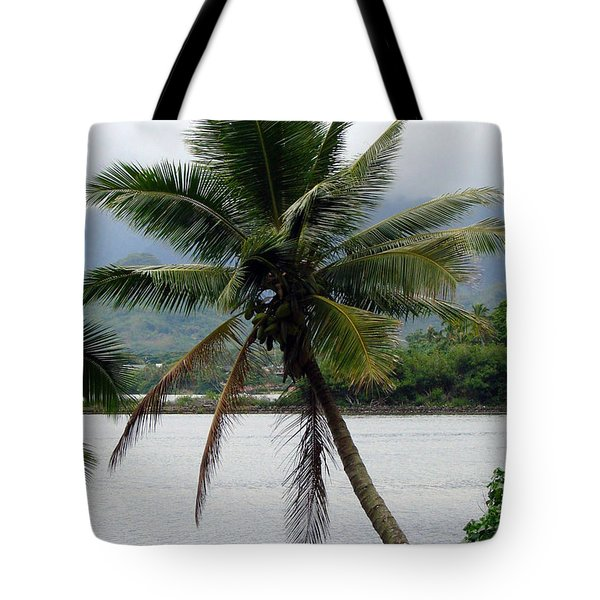 Tote Bag featuring the photograph Hawaiian Palm by Athena Mckinzie