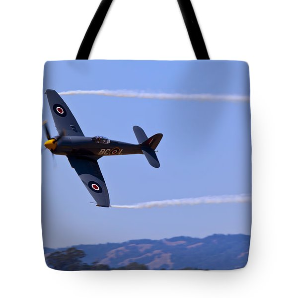 Hawker Sea Fury Tote Bag by Garry Gay