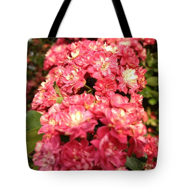 Hawthorn Flowers Tote Bag