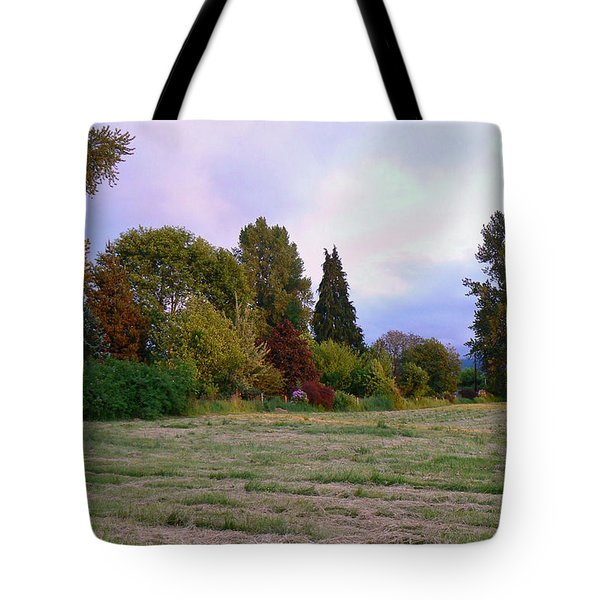 Hay Field Guardians Tote Bag by Pamela Patch
