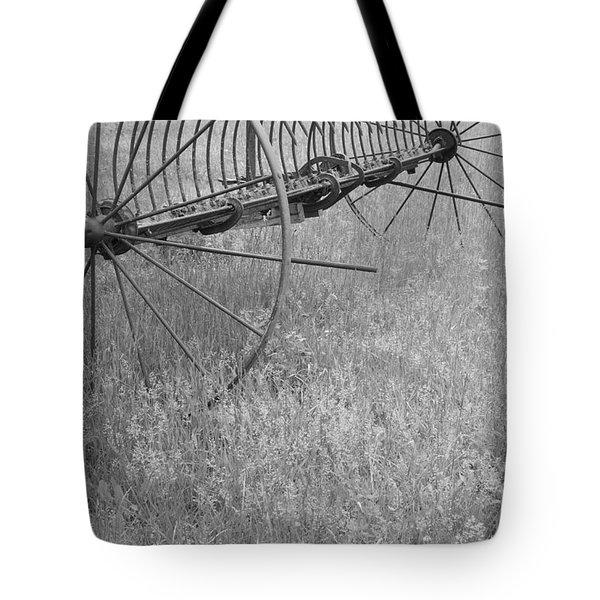 Hay Rake  Tote Bag