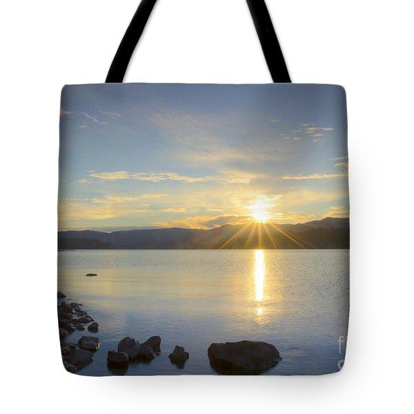 Hayden Sunrise Tote Bag