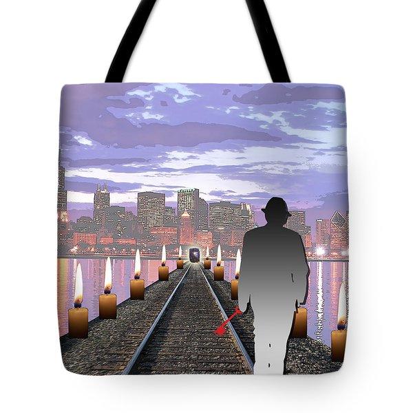 Head On Tote Bag by Jimi Bush