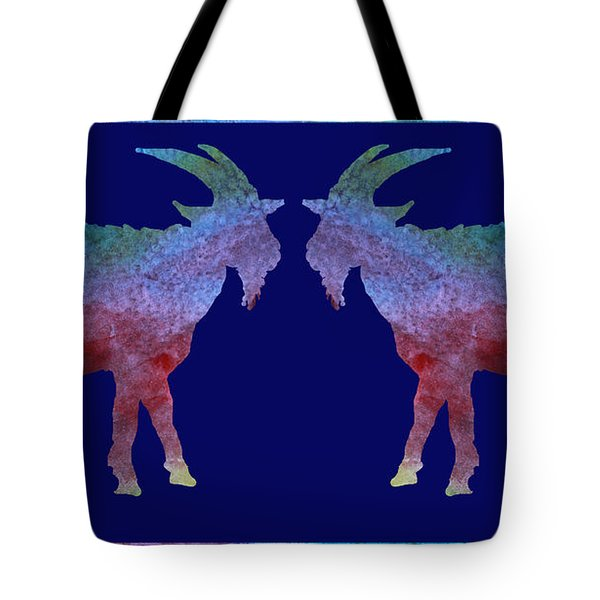 Head To Head Tote Bag by Jenny Armitage