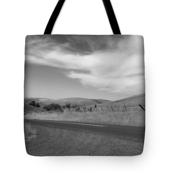 Tote Bag featuring the photograph Heading Inland by Kathleen Grace