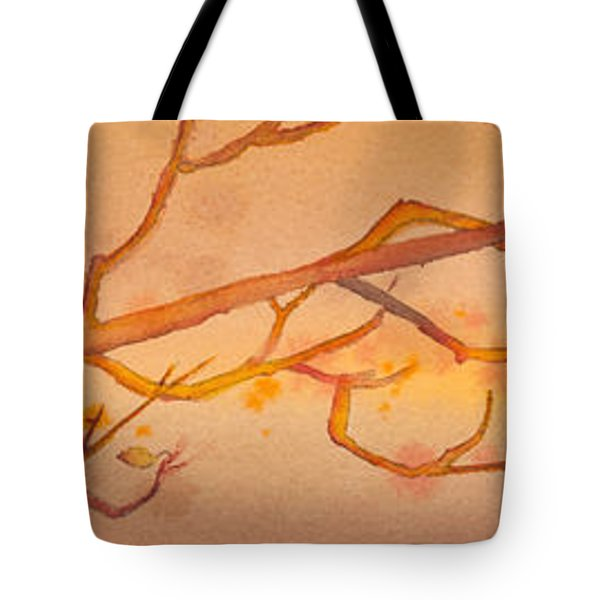 Heading South Watercolor Painting  Tote Bag by Michelle Wiarda