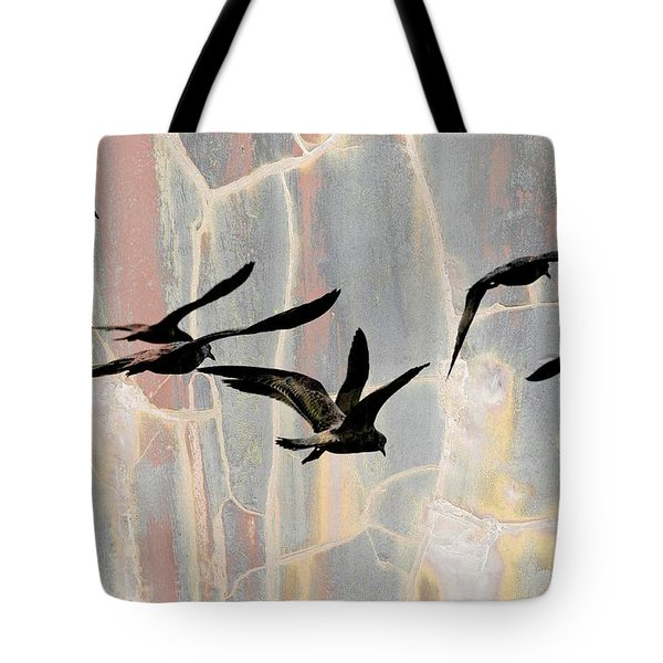 Heading West  Tote Bag by Elaine Manley