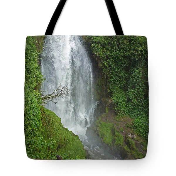Headwaters Peguche Falls Ecuador Tote Bag
