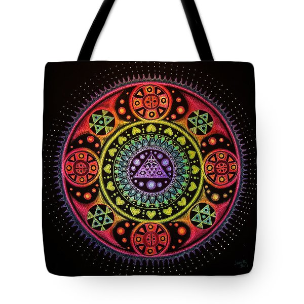 Meditation On Healing From Within Tote Bag