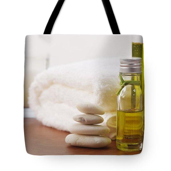 Health Spa Tote Bag by Atiketta Sangasaeng
