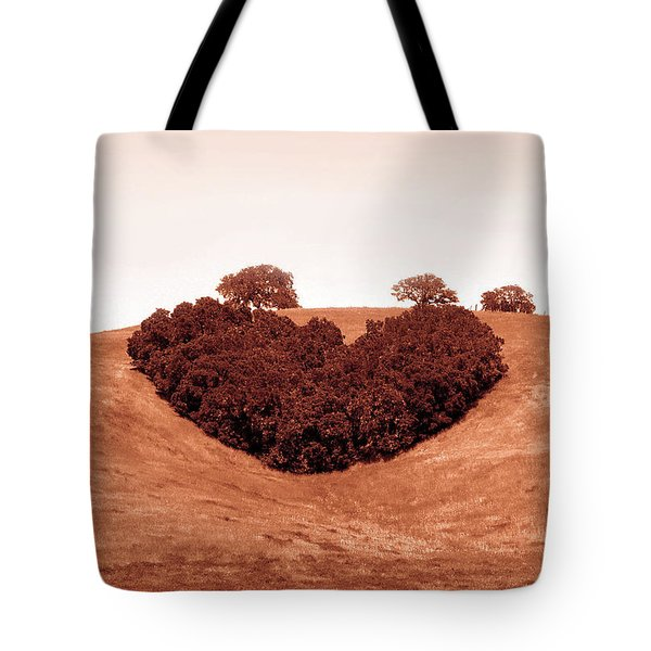 Tote Bag featuring the photograph Heart  by Michael Rock